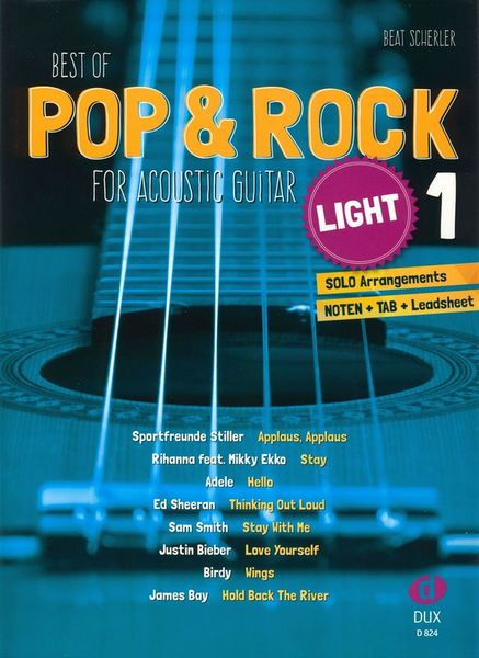 Edition Dux Pop & Rock Acoustic Light 1