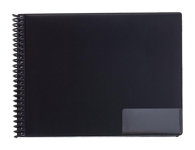 ge-gra-Muster A5/15 Black