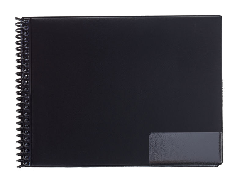 ge-gra-Muster Marching Folder A5/25 Black
