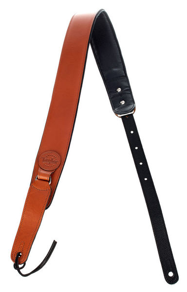 Taylor Badge Guitar Strap Tan