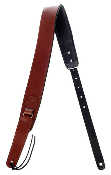 Taylor Badge Guitar Strap Brown