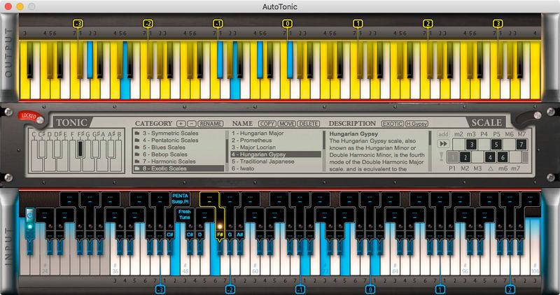 AutoTonic Modal MIDI Transposer