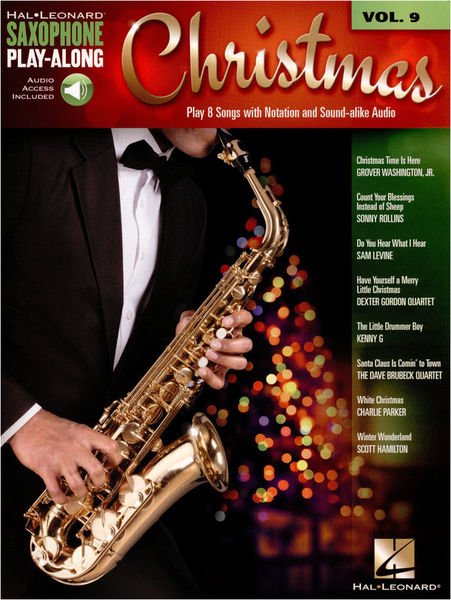 Hal Leonard Sax Play-Along Christmas