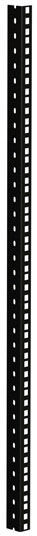 Adam Hall 61535B18 Rack Strip 18U blk