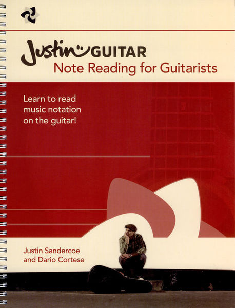 Wise Publications Justinguitar.com Note Reading