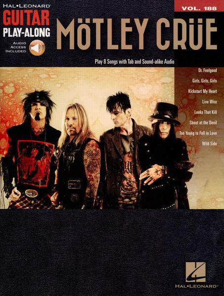 Hal Leonard Guitar Play Along Mötley Crüe