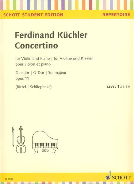 Schott Küchler Concertino op.11