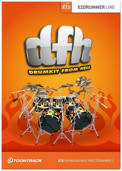 Toontrack EZX Drumkit From Hell