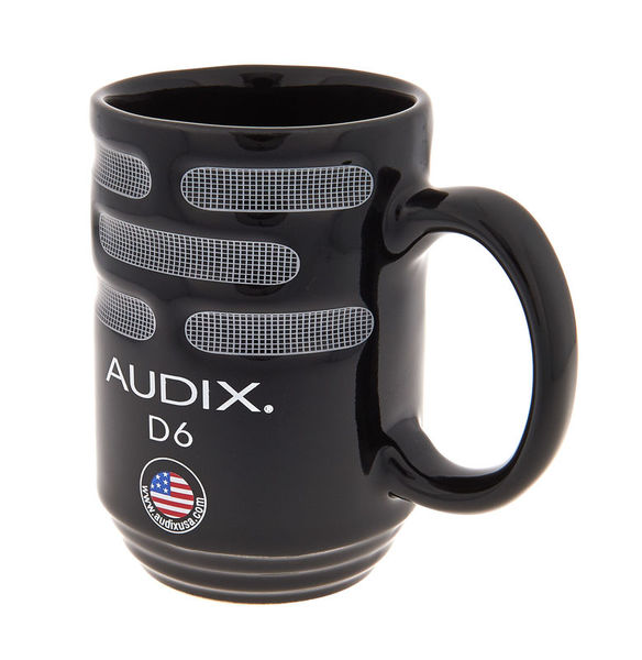 Audix Mug Black D6 200 ml