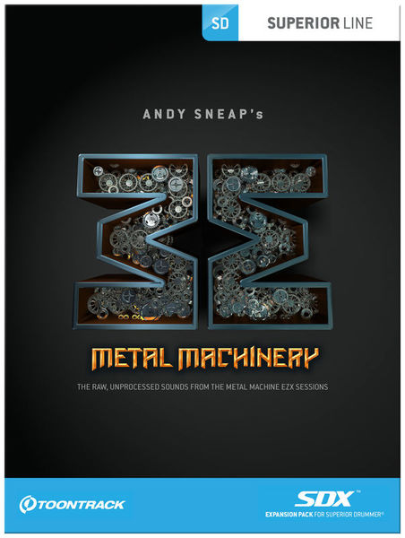 Toontrack SDX Metal Machinery