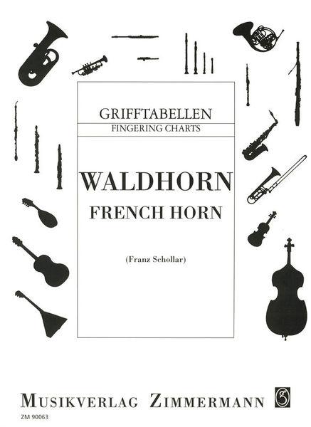 Zimmermann Verlag Grifftabelle für Waldhorn