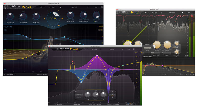 FabFilter Essentials Bundle