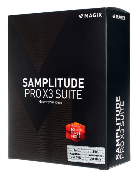 Magix Samplitude Pro X3 Suite EDU
