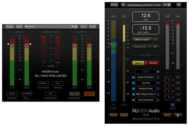 Nugen Audio MasterCheck Pro & ISL 2st
