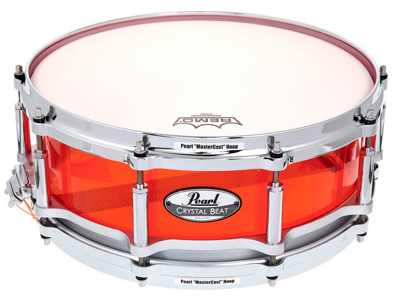 "Pearl 14""x05"" CRB Free Float. Red"