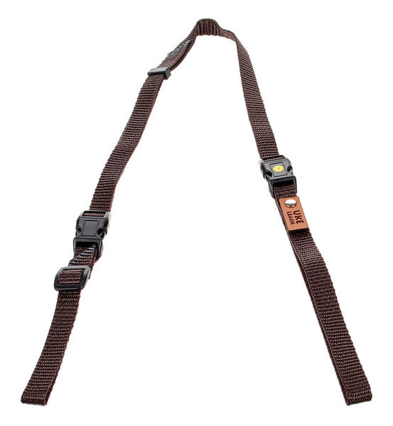 Uke Leash Half Strap Brown Small
