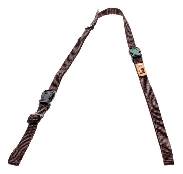 Uke Leash Half Strap Brown Medium