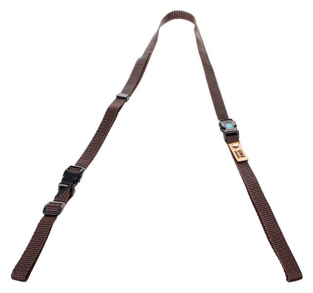 Uke Leash Half Strap Brown Large