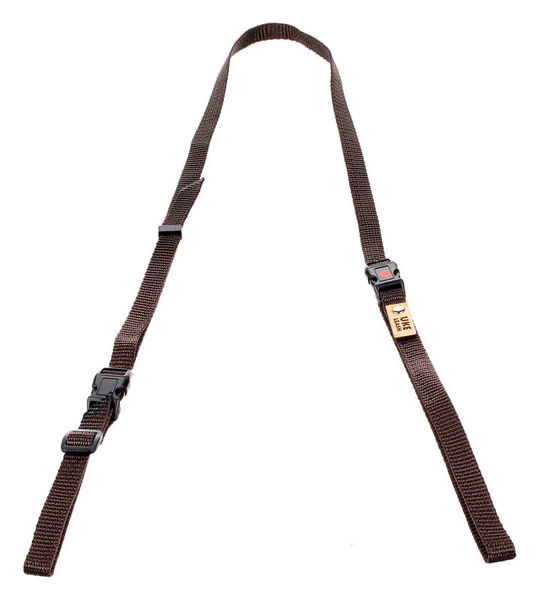 Uke Leash Half Strap Brown XLarge
