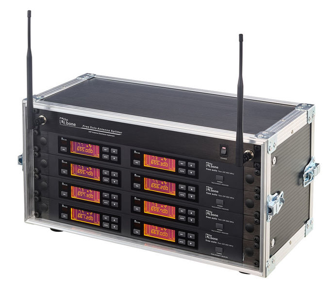 the t.bone free solo PT 660 MHz/8 CH Rack
