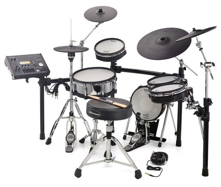 Roland TD-50K V-Drum Set Bundle