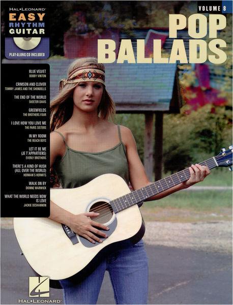 Hal Leonard Easy Rhythm Guitar: Pop Ballad