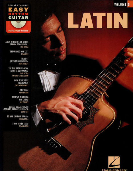 Hal Leonard Easy Rhythm Guitar: Latin