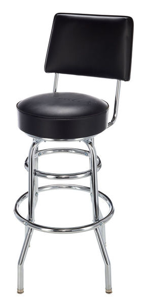 Fender Black Backrest Barstool 30""