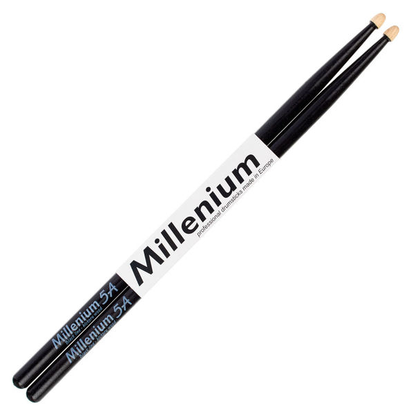 Millenium H5A Hickory Sticks Black