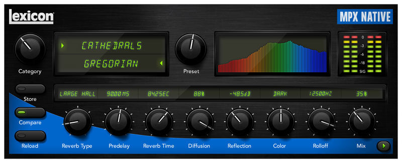 Lexicon MPX Native Reverb