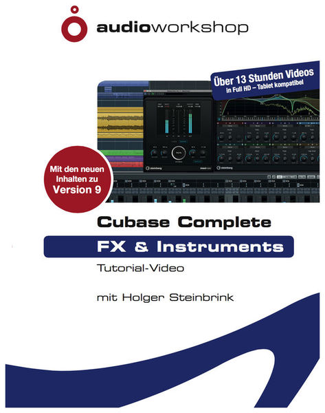 Audio Workshop Cubase Complete FX