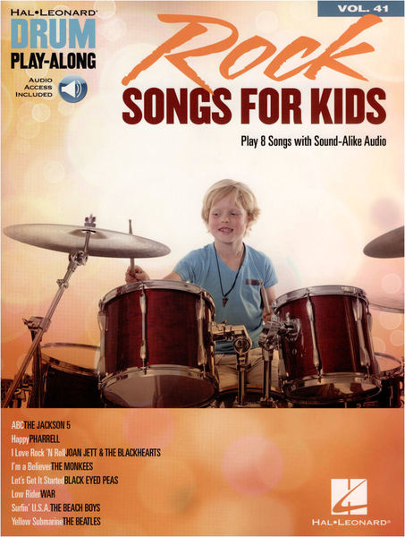 Hal Leonard Drum Play-Along: Rock f.Kids