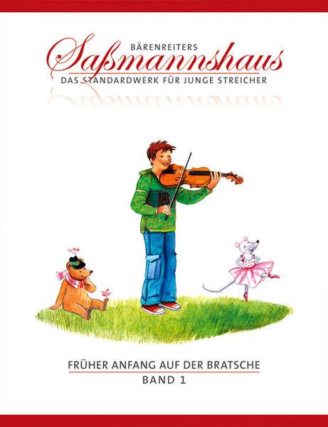 Bärenreiter Sassmannshaus Anfang Viola 1
