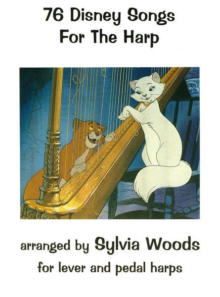 Hal Leonard 76 Disney Songs For The Harp