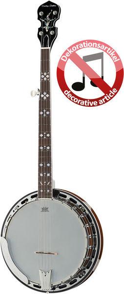 Harley Benton BJ-55Pro 5 String Banj Deko