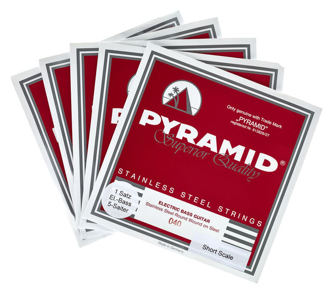 Pyramid short scale 5-string set