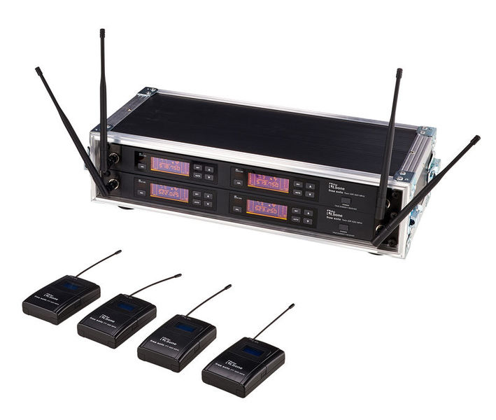 the t.bone free solo PT 520 MHz/4 CH Rack
