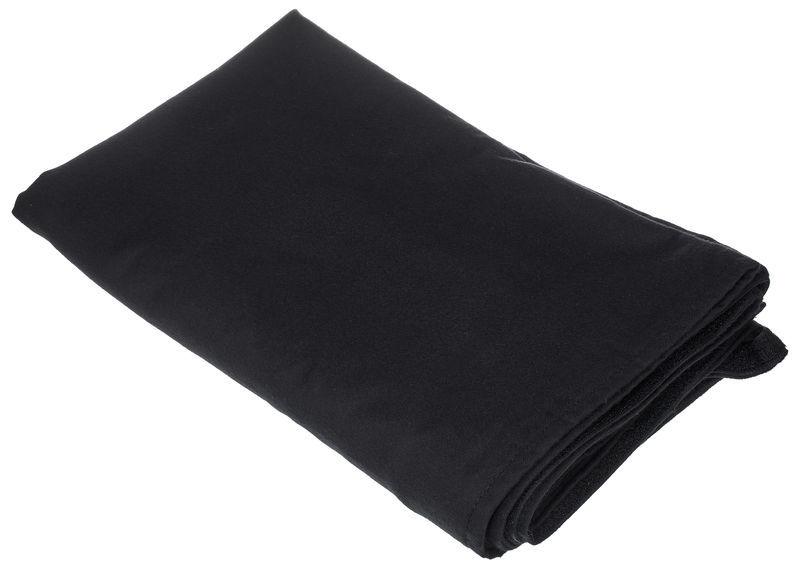 Stairville Skirt 160g/m² 10.0x1.0m Bk