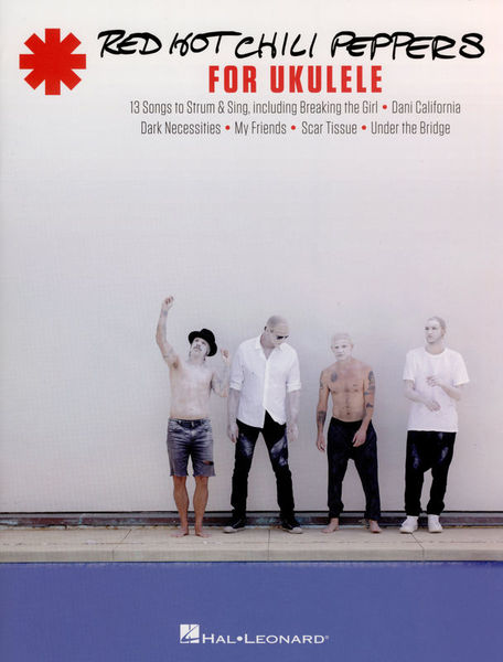 Hal Leonard Red Hot Chili Peppers Ukulele Thomann Uk
