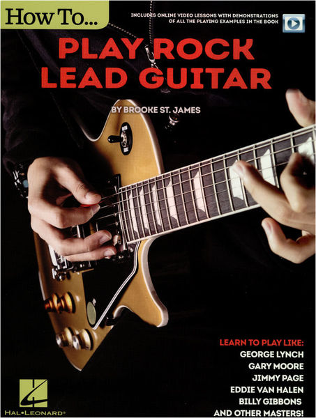 Hal Leonard How to play Rock Lead Guitar