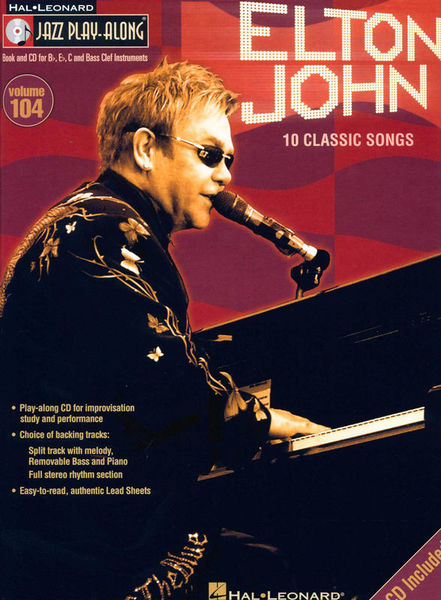 Jazz Play-Along Elton John Hal Leonard