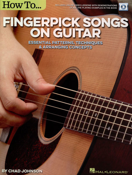 Hal Leonard Chad Johnson:How to Fingerp.