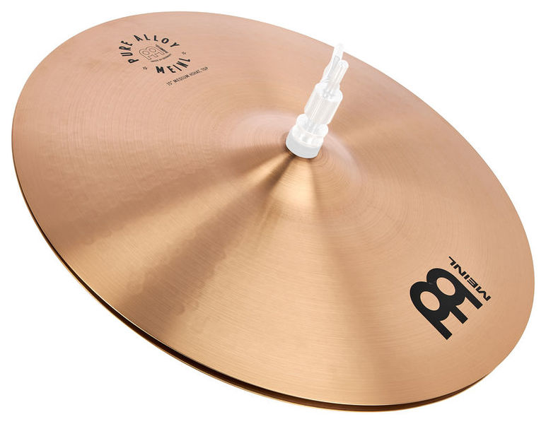"Meinl Pure Alloy 15"" Medium Hi-Hat"