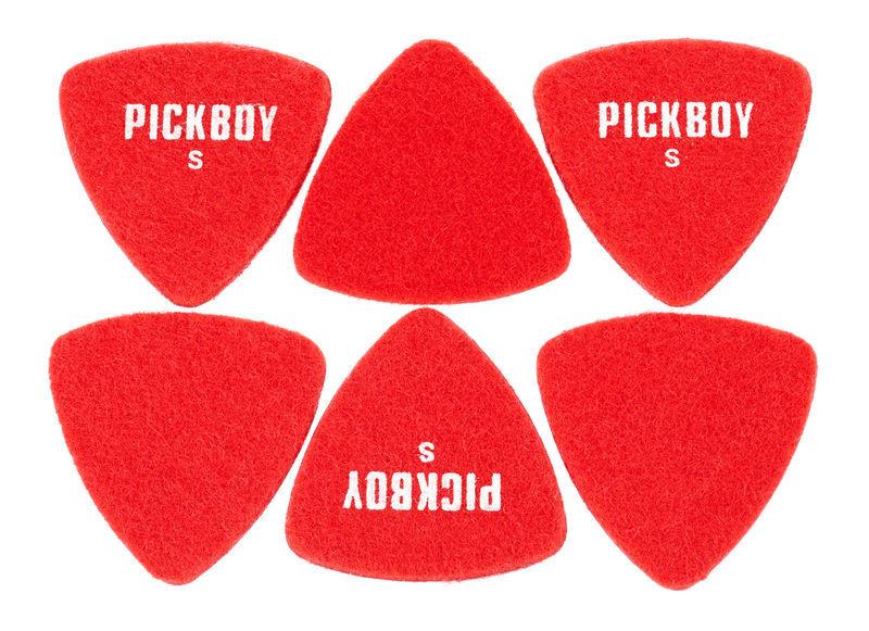 Pickboy Felt Triangle Red Soft Pick S