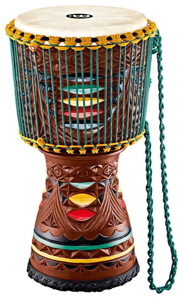 Meinl Artisan Djembe Painted Carving