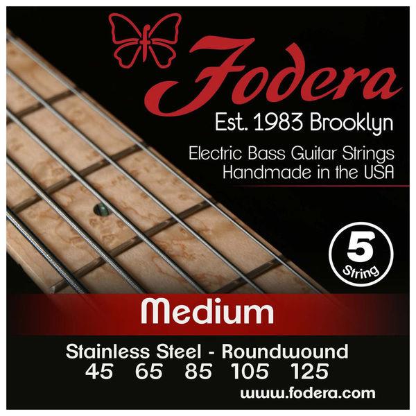 Fodera 5-String Set Med SS XL Taper B