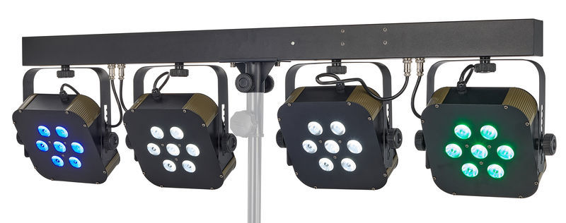Stairville Stage Quad LED Bundle RGBW