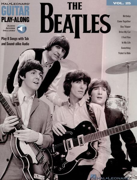 Hal Leonard Guitar Play-Along: The Beatles