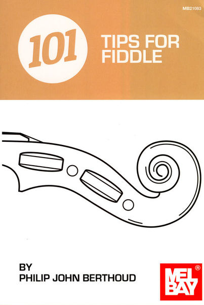Mel Bay 101 Tips for Fiddle