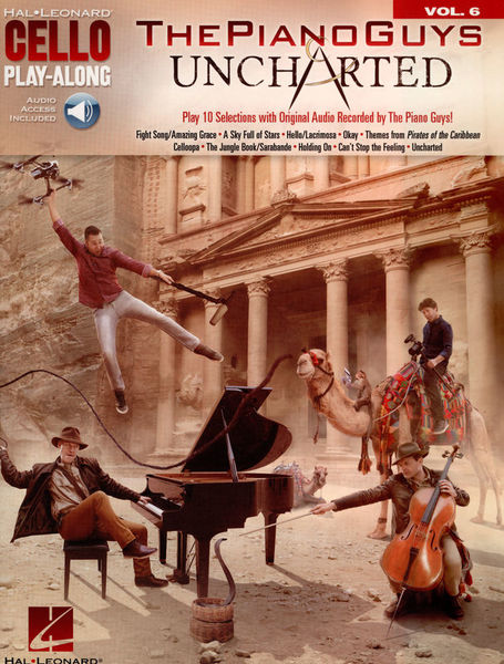 Hal Leonard Cello Play-Along: Piano Guys
